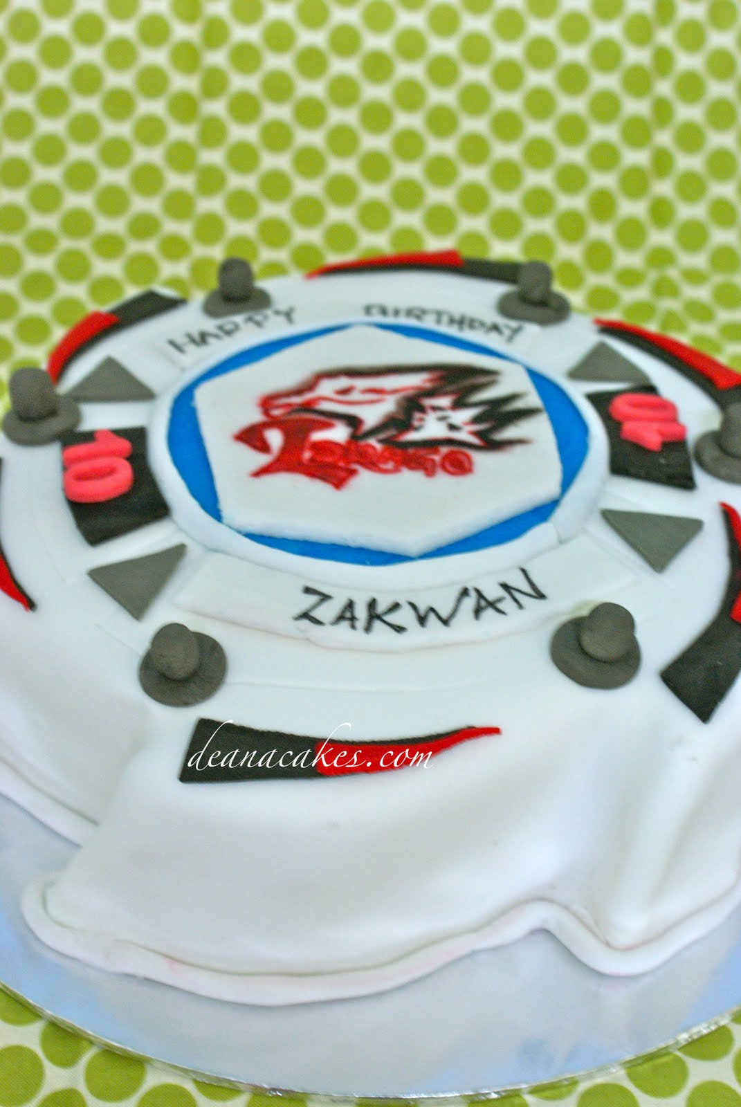Contemporary Cakes For All Occasion Beyblade Cake