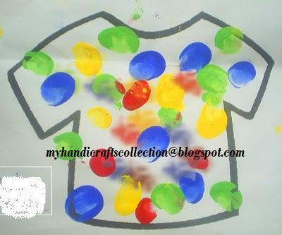 Colourful Imaginations Holi Craft