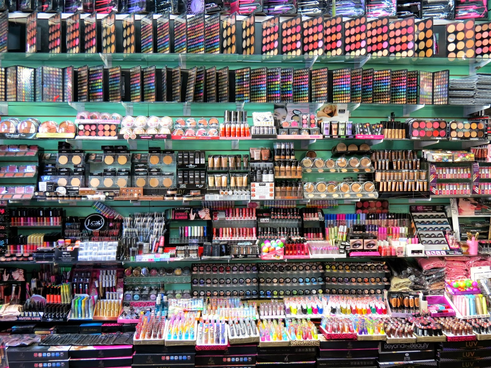 The Santee Alley Makeup and Beauty Supplies at Wholesale