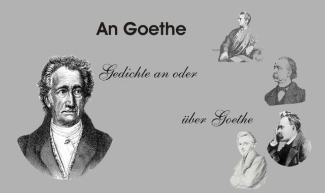 Gedichte Und Zitate Fur Alle Dichter Uber Goethe Otto Ernst
