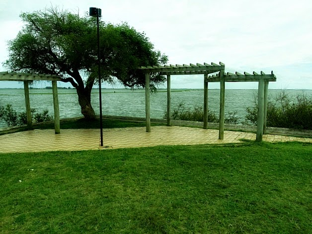 Lagoa Mirim na área do Porto Municipal