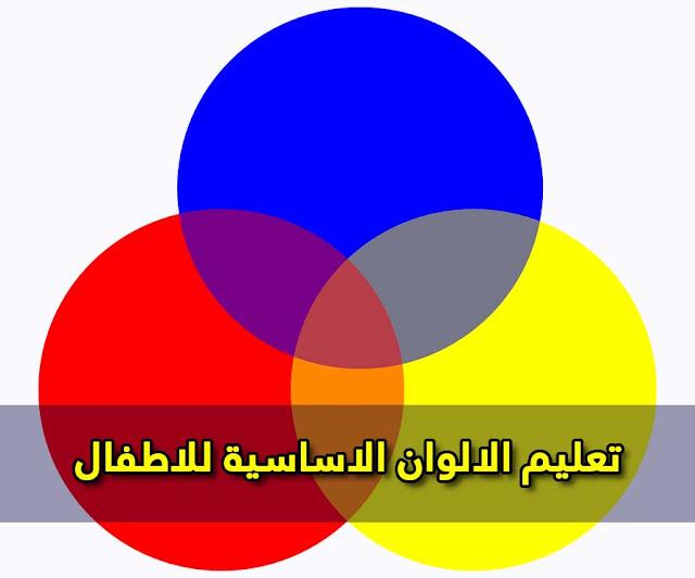 تعليم الالوان الاساسية للاطفال بالعربي والإنجليزي - فيديو تعليمي للاطفال