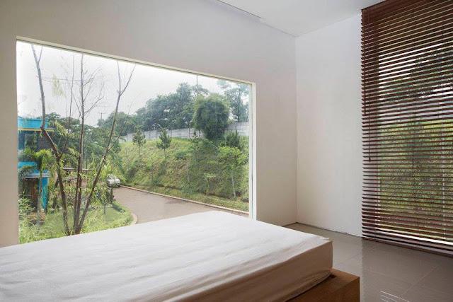 Kamar tidur tidak harus penuh dengan barang Inspirasi Kamar Tidur Simple