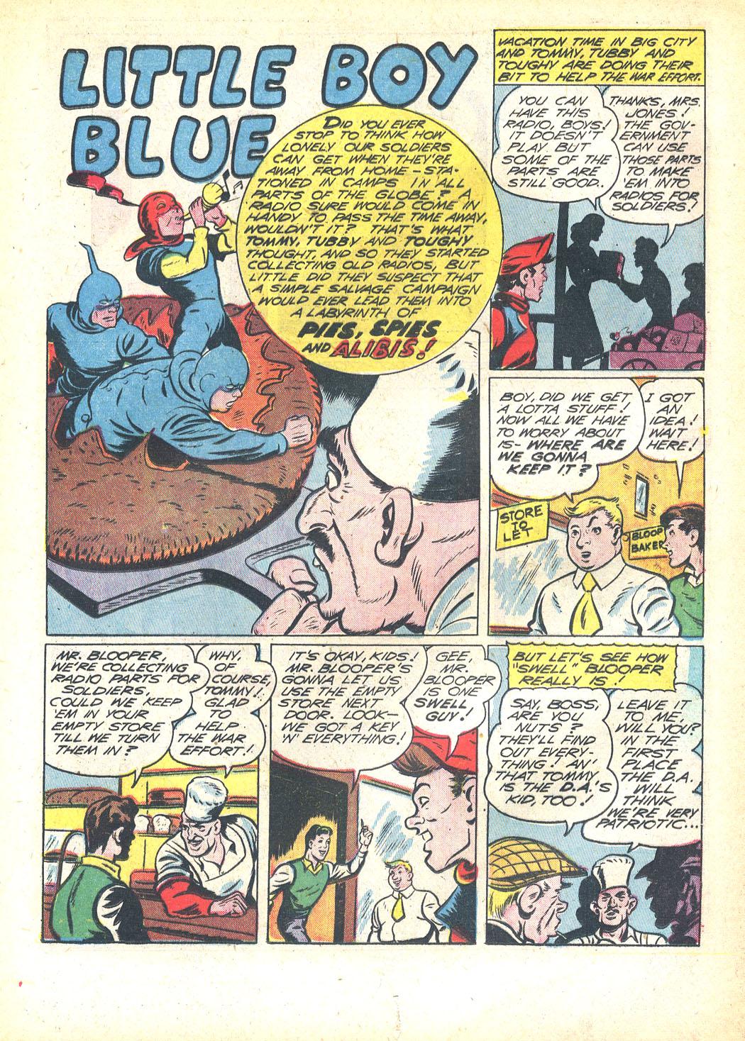 Read online Sensation (Mystery) Comics comic -  Issue #23 - 25