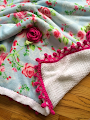 Crochet a Cabbage Rose Blanket $5.00
