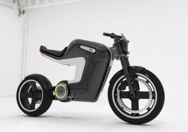 Bolt Naked Style Electric Motorcycle Concept Spicytec