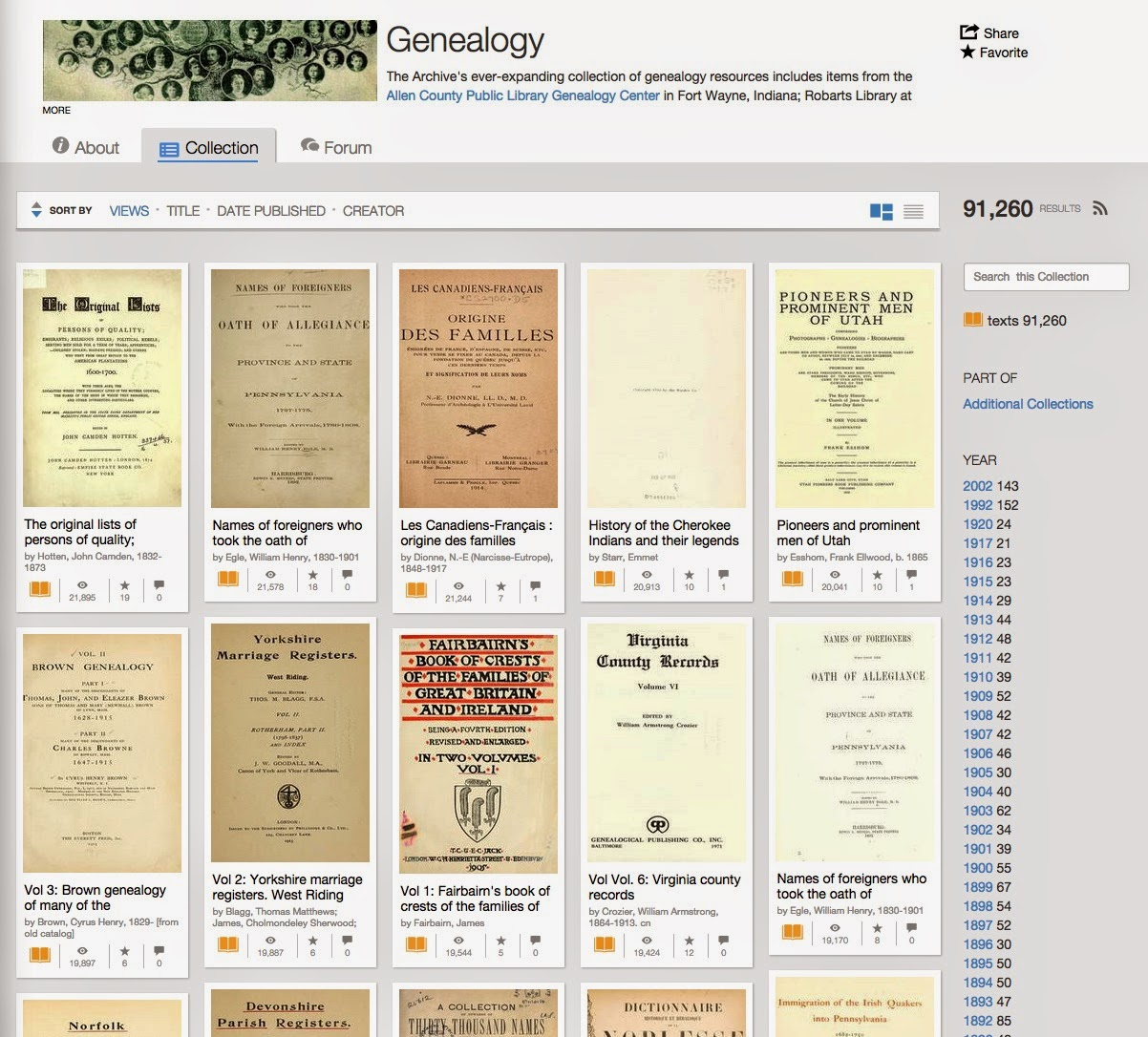 genealogy s star genealogical discoveries from the internet archive