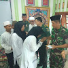 Satuan Sandidam Jaya Gelar Syukuran HUT Ke-69 Kodam Jaya Di Yayasan Yatim Piatu Nurul Amal