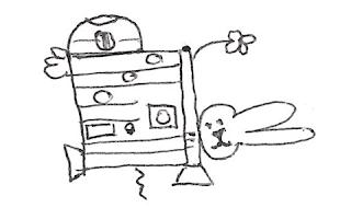 dessin-de-r2d2-4 Comment dessiner R2D2