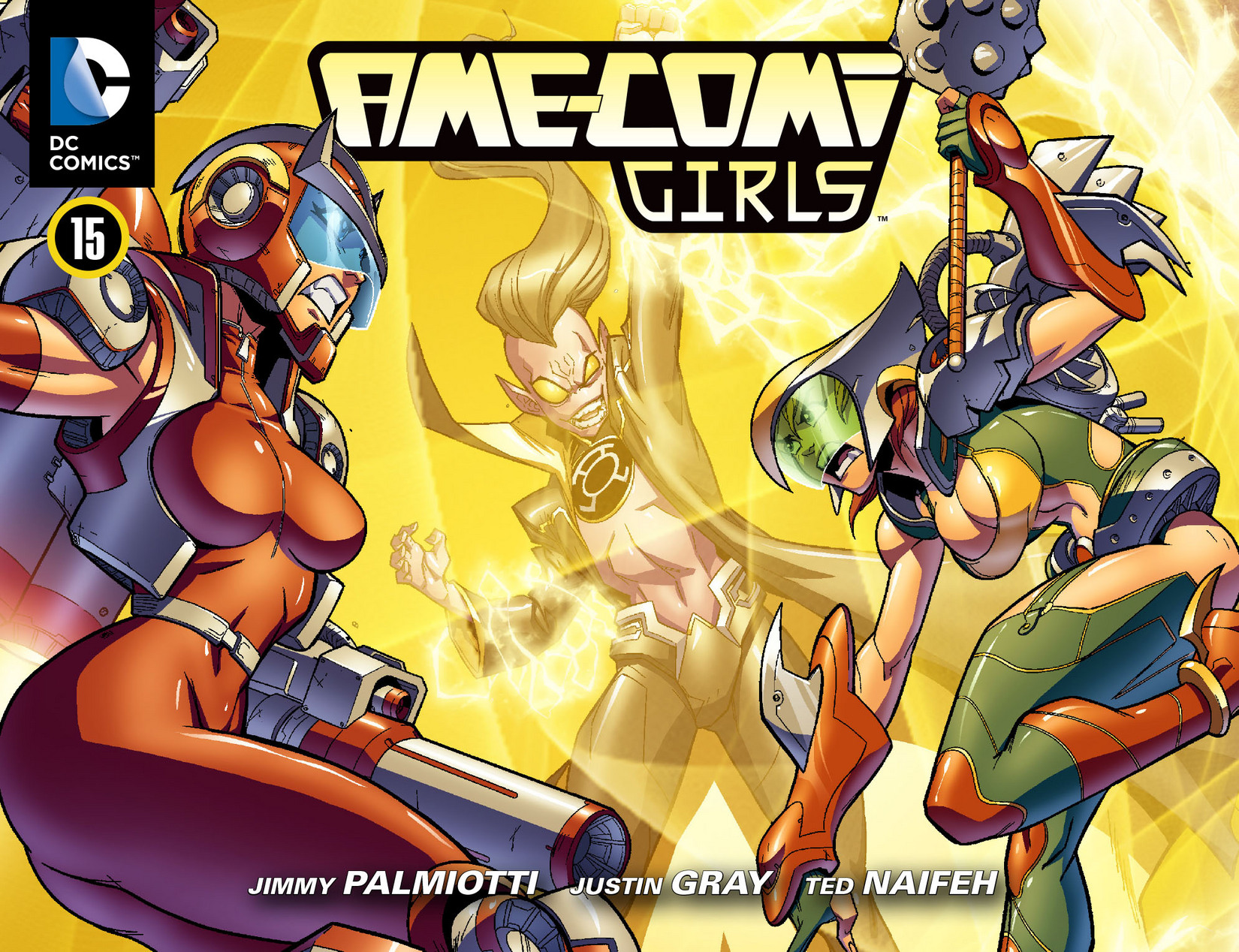 Read online Ame-Comi Girls comic -  Issue #15 - 1