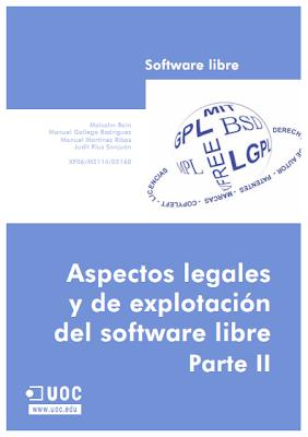 Aspectos legales y de explotación del software libre – Parte II