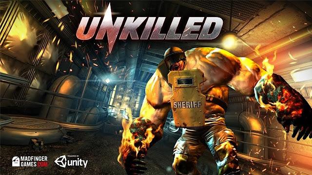 تحميل لعبة قتل الزومبي وانقاذ العالم  للكمبيوتر للاندرويد والايفون download UNKILLED game