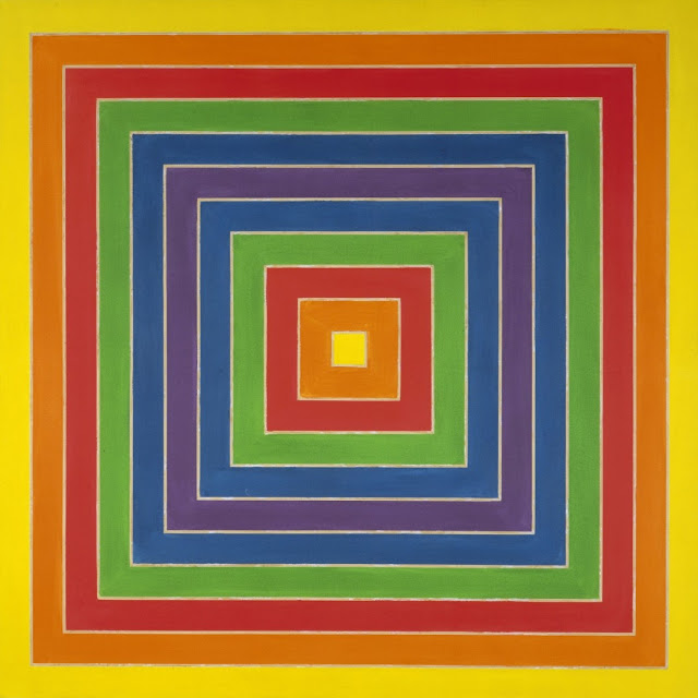 """""""Frank Stella: Selections from the Permanent Collection"""" Exhibition at LACMA"""