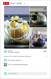 Window displays as unique as our earrings!