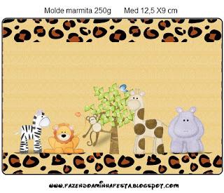 Etiquetas de La Selva de Juguete para imprimir gratis.