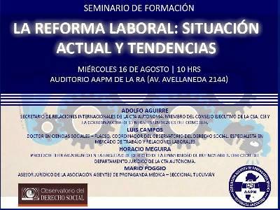 Seminario sobre Reforma Laboral en AAPM