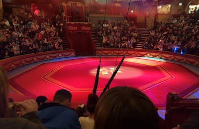 The Blackpool Tower Circus Review arena