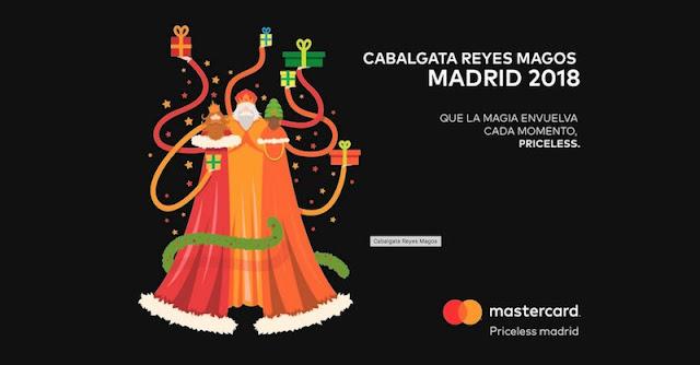 Sorteo de cuatro entradas para la Cabalgata de Reyes de Madrid con las mejores vistas