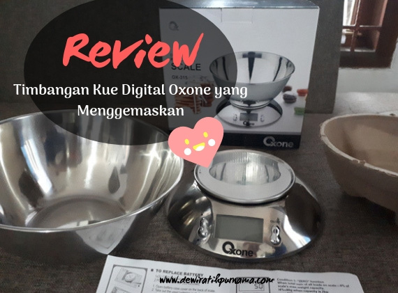 review timbangan kue oxone