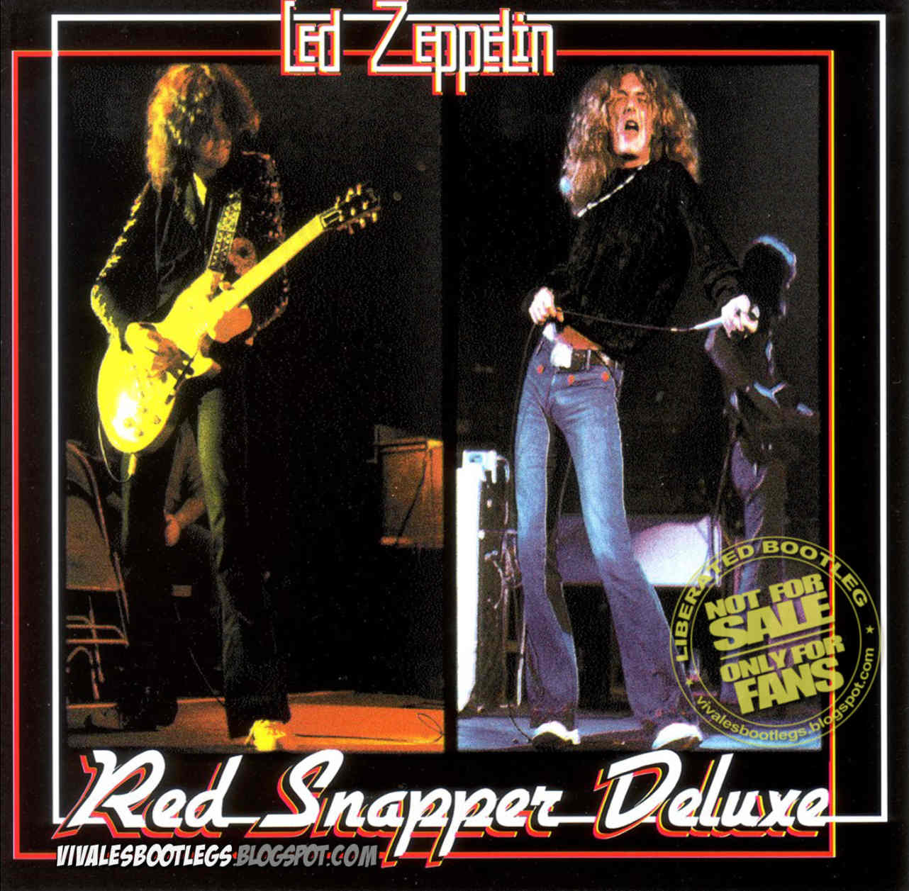 Led Zeppelin: Red Snapper Deluxe  Montreal Forum, Montreal