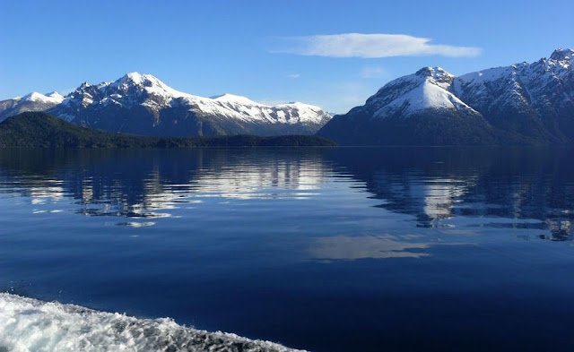 Lago Nahuel Huapi em Bariloche