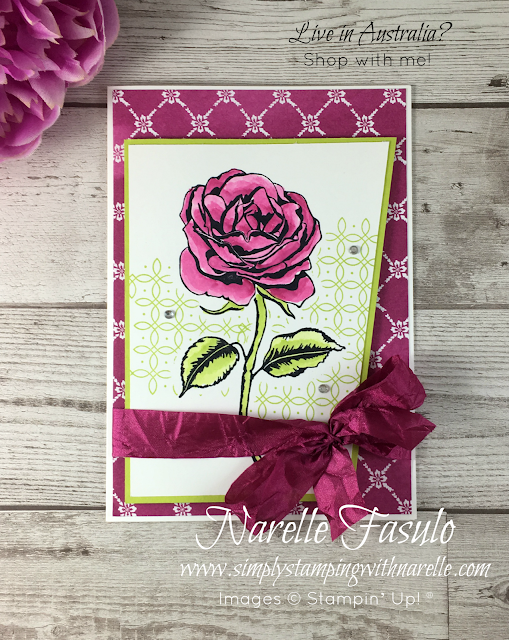 Graceful Garden and Berry Burst - A match made in heaven - Simply Stamping with Narelle - Shop here - https://www3.stampinup.com/ecweb/default.aspx?dbwsdemoid=4008228