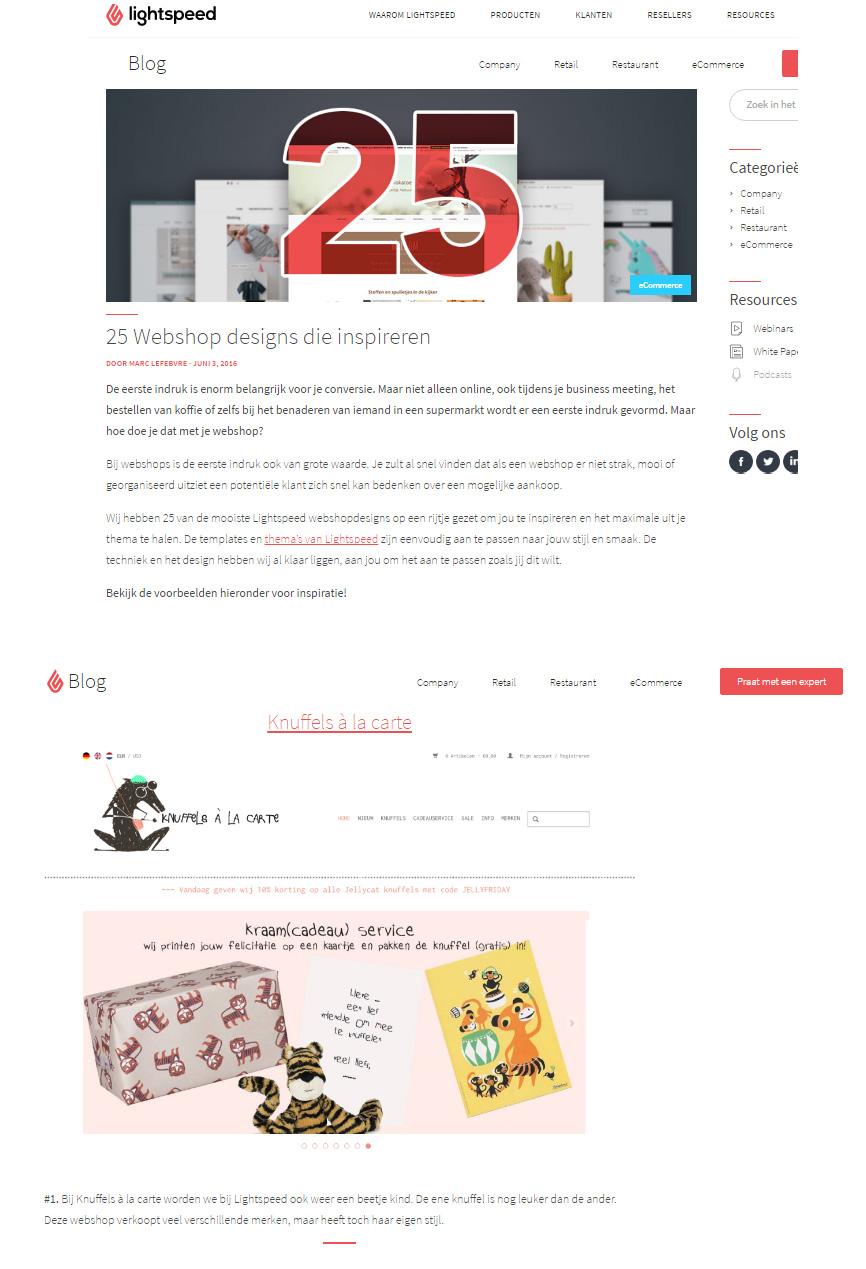 design Knuffels a la carte