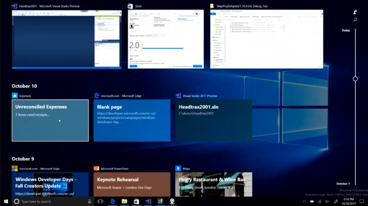 Timeline-Sets-Windows-10