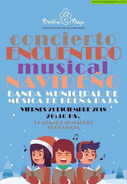 BREÑA BAJA NAVIDAD: Concierto Banda Municipal