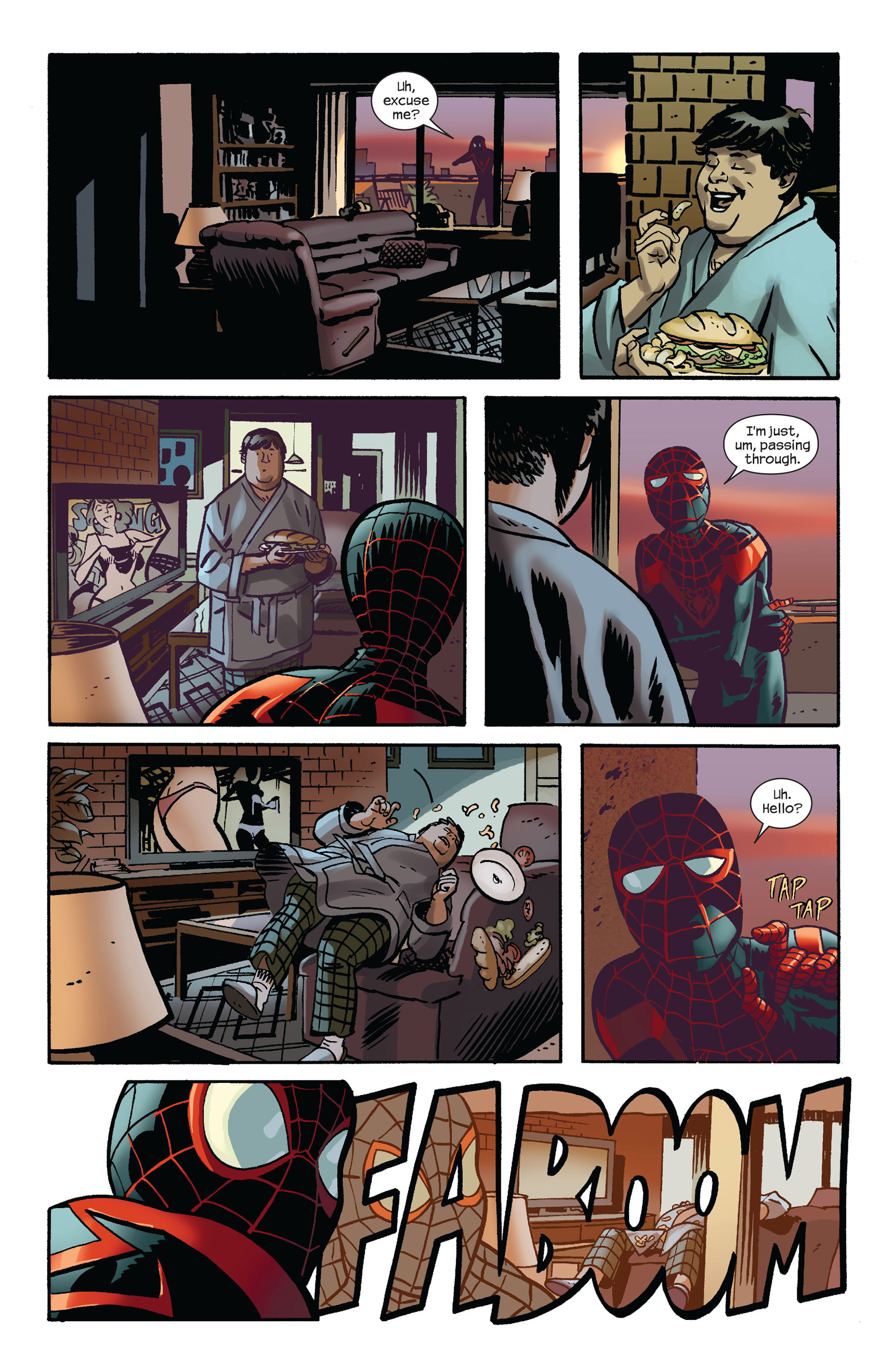 Read online Ultimate Comics Spider-Man (2011) comic -  Issue #7 - 9