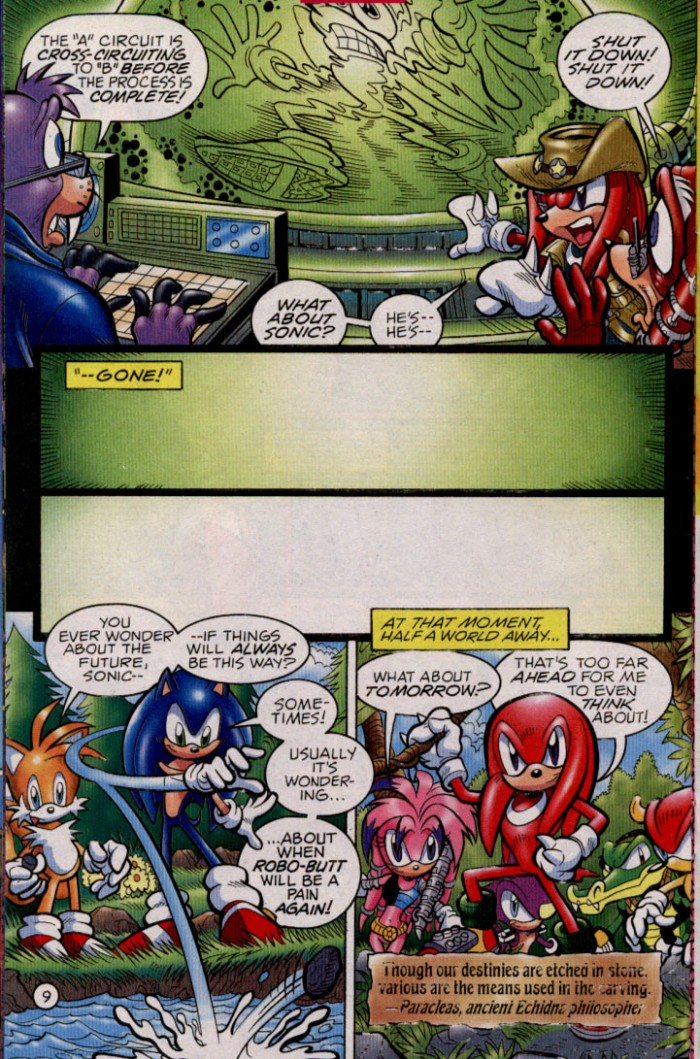 Read online Sonic The Hedgehog comic -  Issue #144 - 11