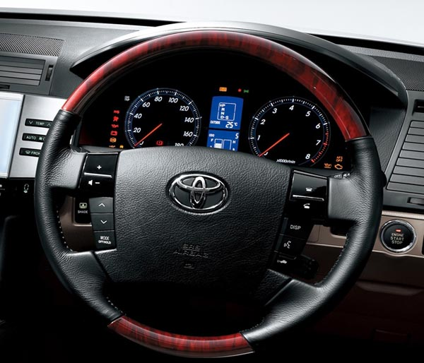 Cars World: Toyota Mark X Interior