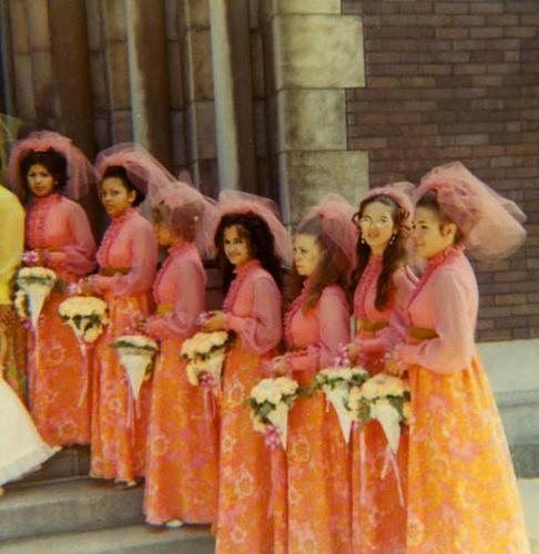 Crazy Ugly Wedding Dresses: OK Wedding Gallery: Horrifying Bridesmaid Dresses