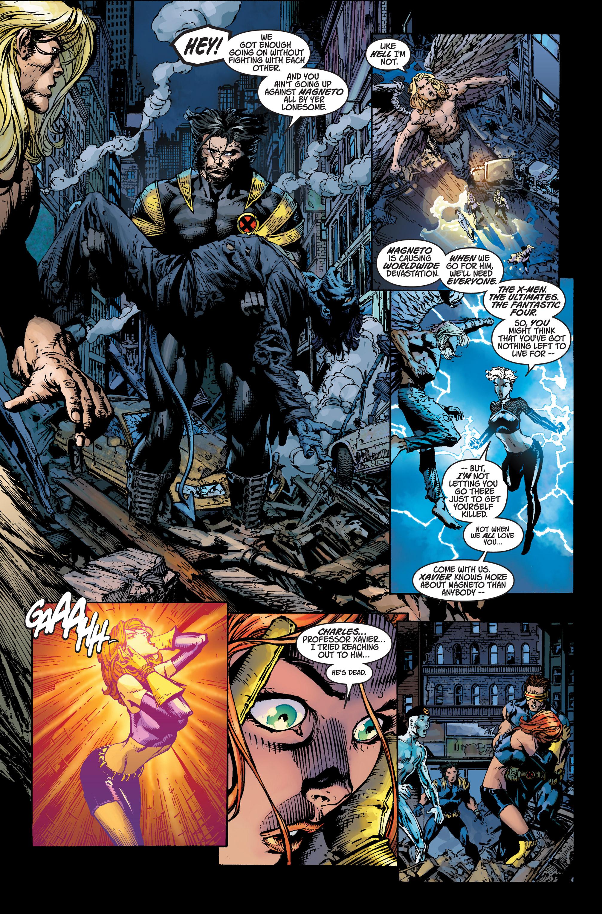 Read online Ultimatum comic -  Issue #3 - 11