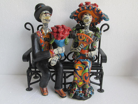 Day of the Dead, Catrinas, skeleton art