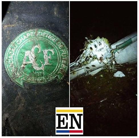 chapecoense accidente imagenes