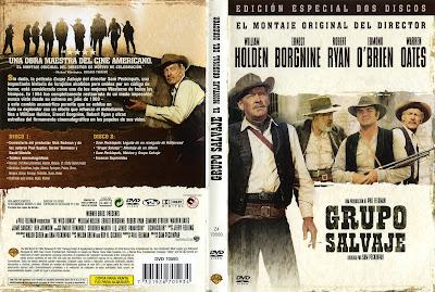 Grupo salvaje (1969) The Wild Bunch - Caratula - dvd - Cover