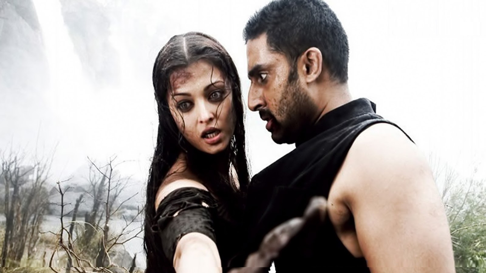 Aishwarya rai movie Raavan with Abhishek