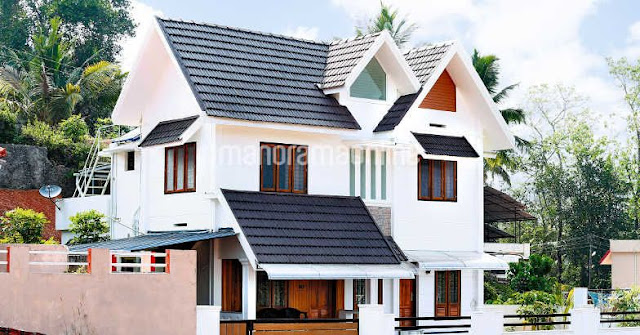 kerala villa free plans, courtyard houses in kerala, small courtyard inside house, courtyard house kerala