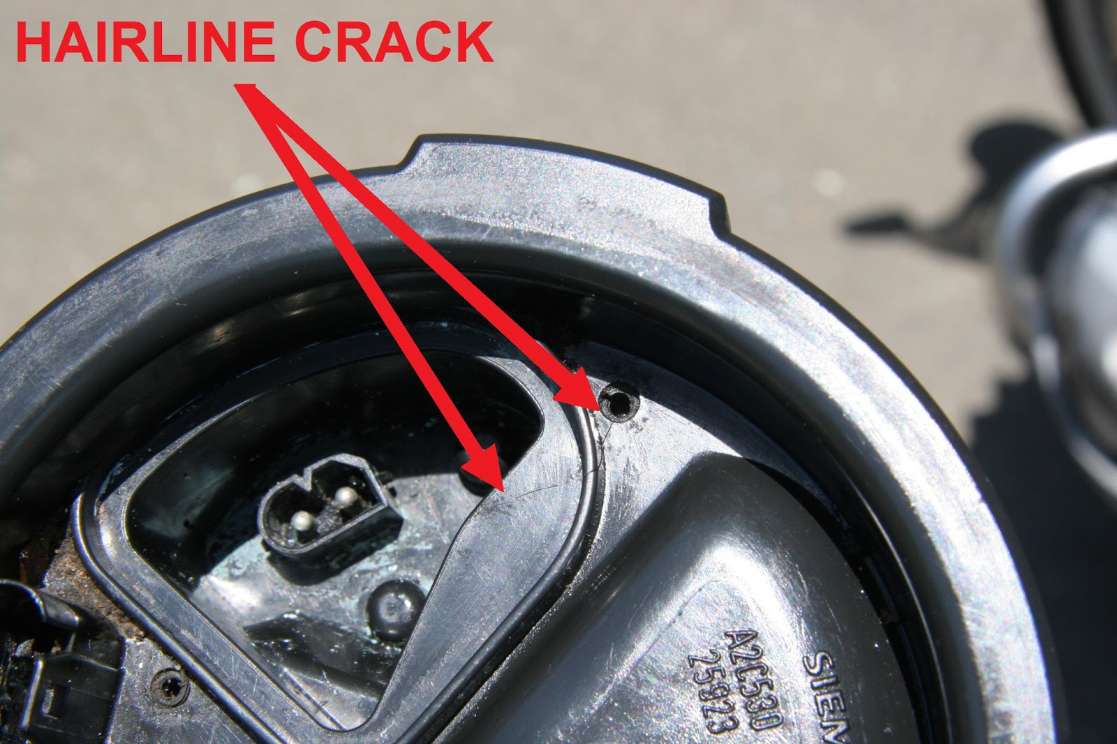 Motorcycle Fuel Pump Problems : Ash Cycles