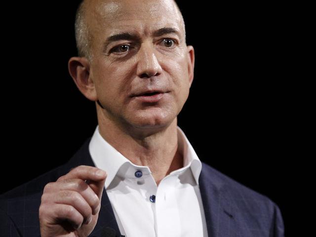 Jeff Bezos, the CEO of Amazon