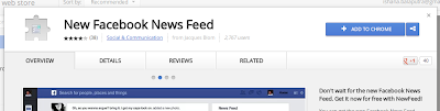 instal aplikasi facebook news feed