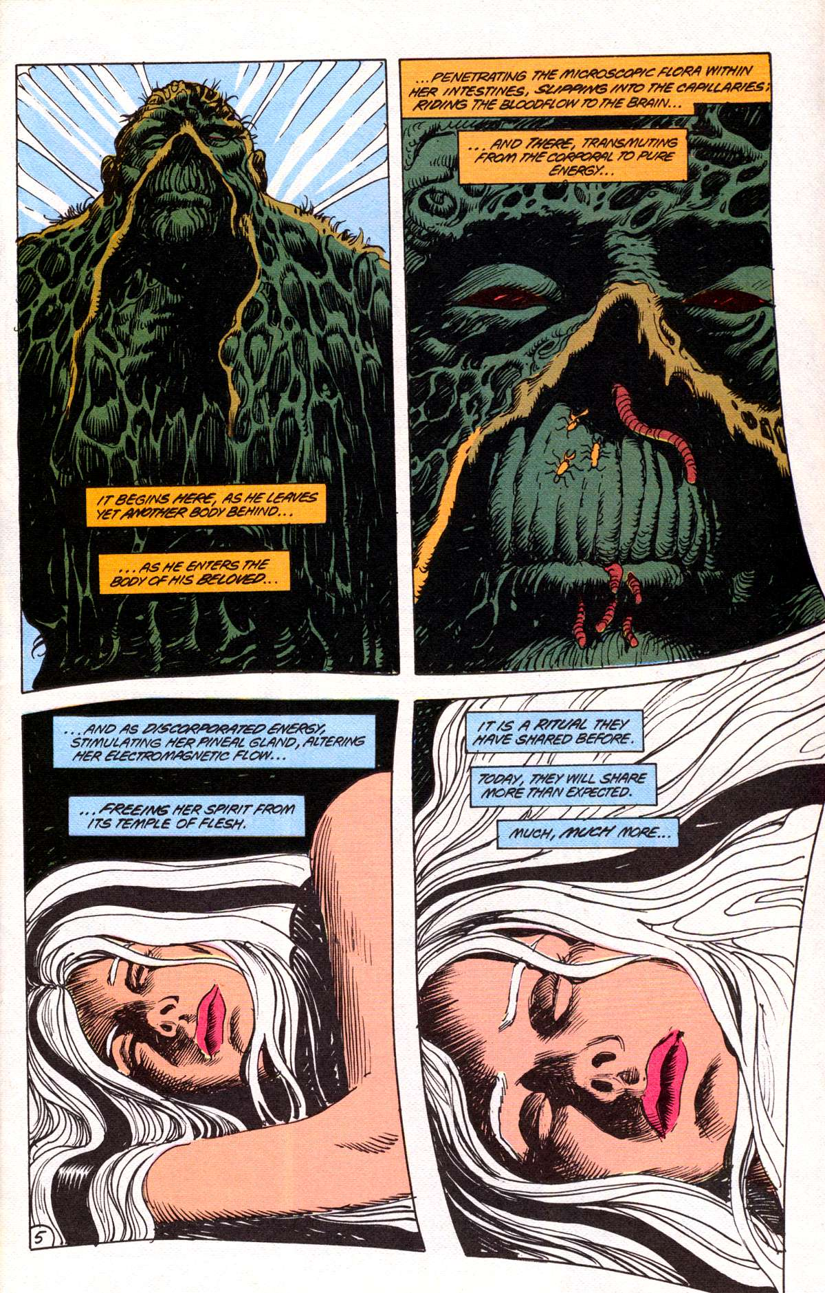 Swamp Thing (1982) Issue #78 #86 - English 6