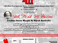 Hadirilah Tablig Akbar:  Dahsyatnya Al Maidah 51 dan Jihadul Kalimah 411