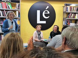 """Presentacion de """"MORIR NO ES LO QUE MAS DUELE"""" de Inés Plana, (Editorial Espasa, Librería Lé)"""