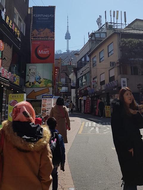 tempat solat di Seoul