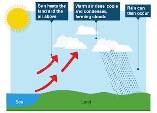 Tahap - Tahap Proses Terjadinya Hujan