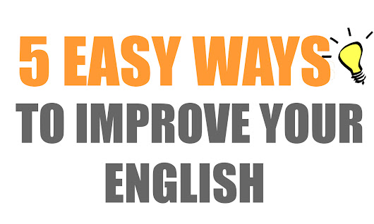 ways tp improve your english
