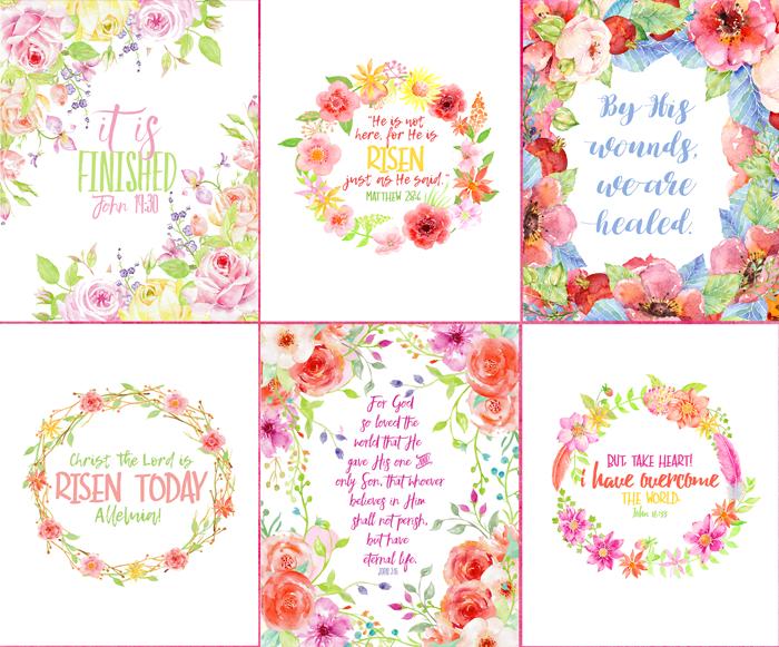 Flower Easter Printable Sale