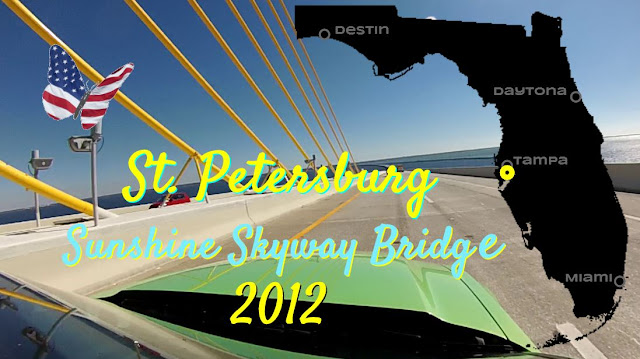 St Petersburg Sunshine Skyway Bridge 2012, Florida USA